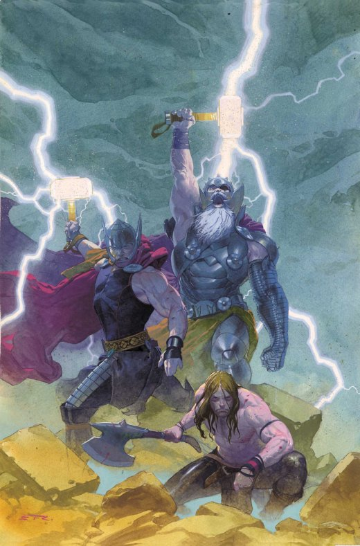 Thor God of Thunder 9