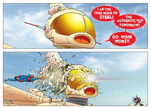 All Star Superman Robot