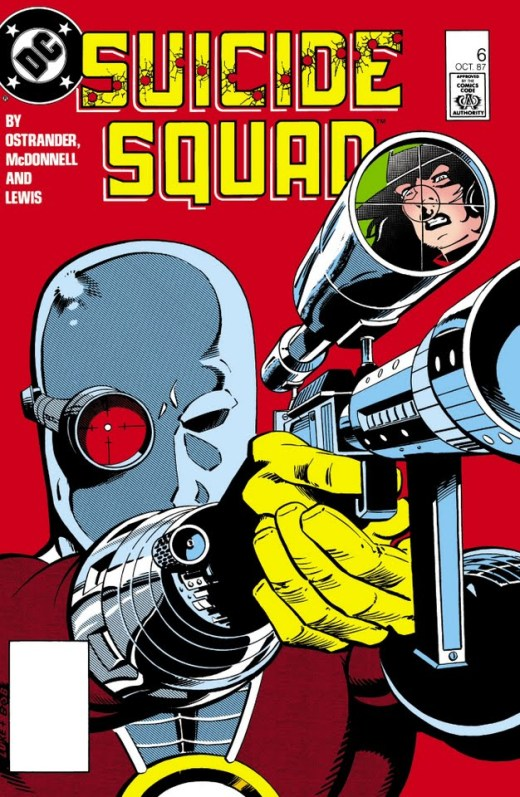 Suicide Squad #6 Cover