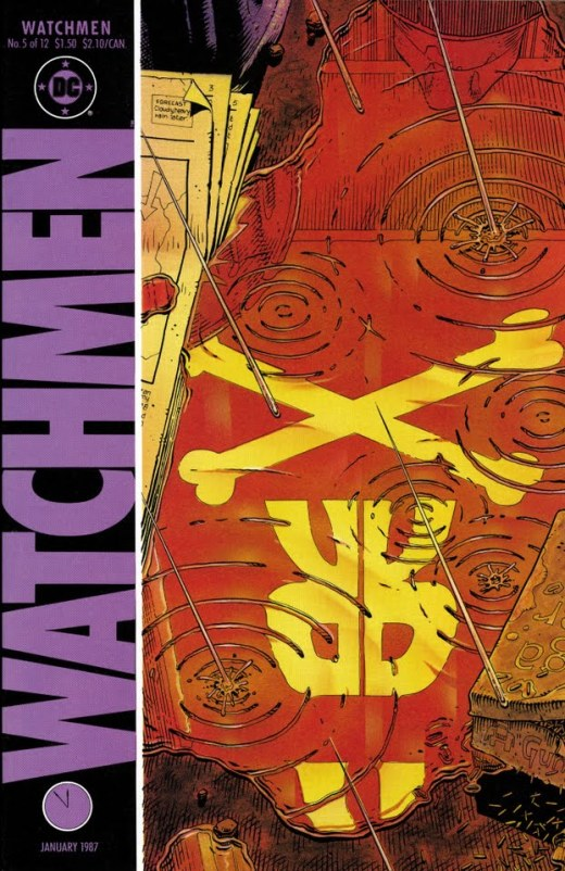 Watchmen #5 Cover