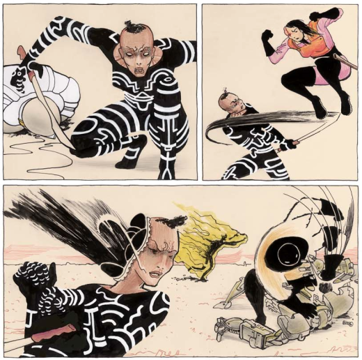 Copra 1 - Action Sequence