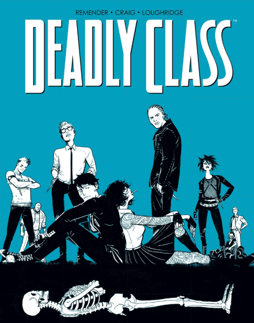 Deadly Class #1 - Cover
