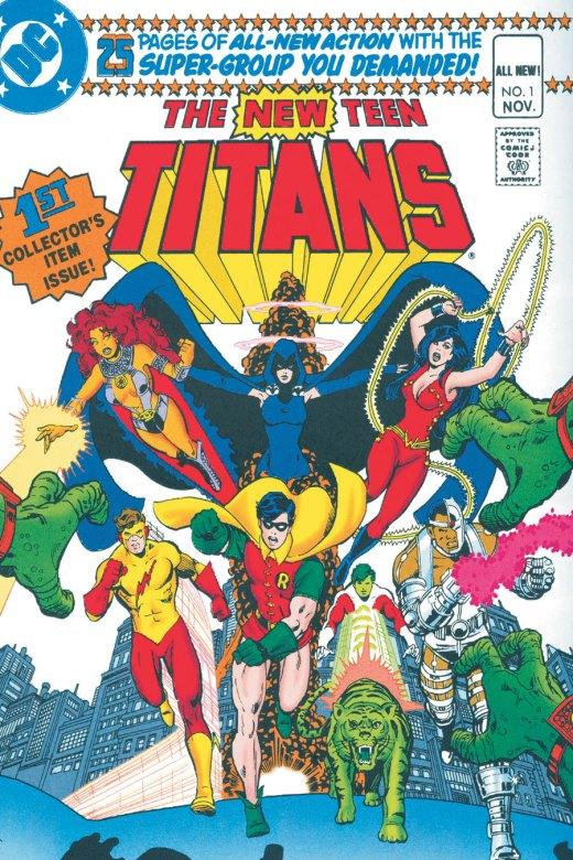 Perez- New Teen Titans