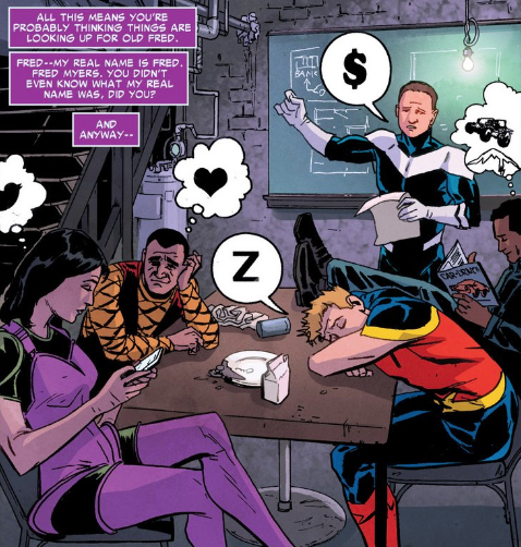 Superior Foes of Spider-Man - Thought Bubbles 1