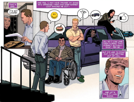 Superior Foes of Spider-Man - Thought Bubbles 2