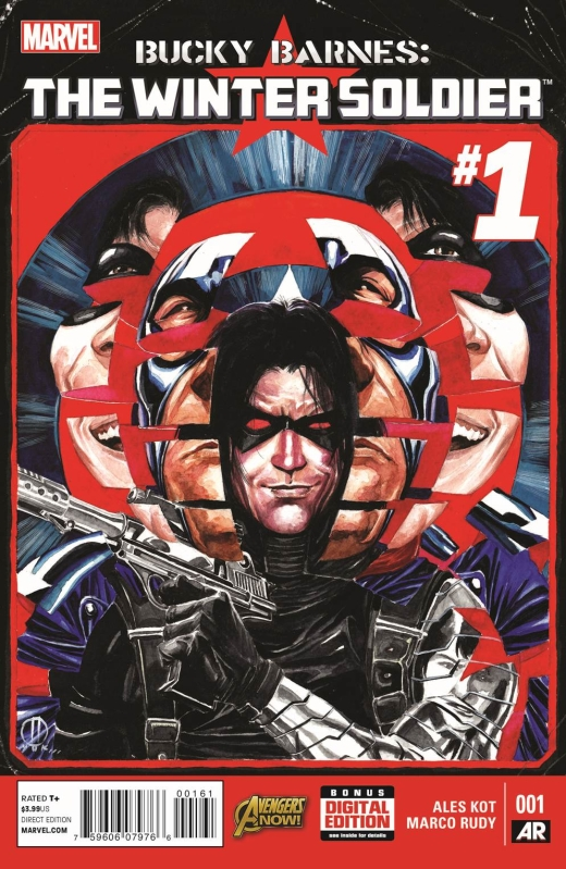 Bucky Barnes Winter Soldier 1 - Cover