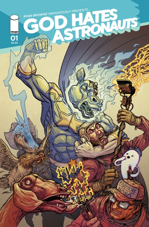 God Hates Astronauts 1 - Cover