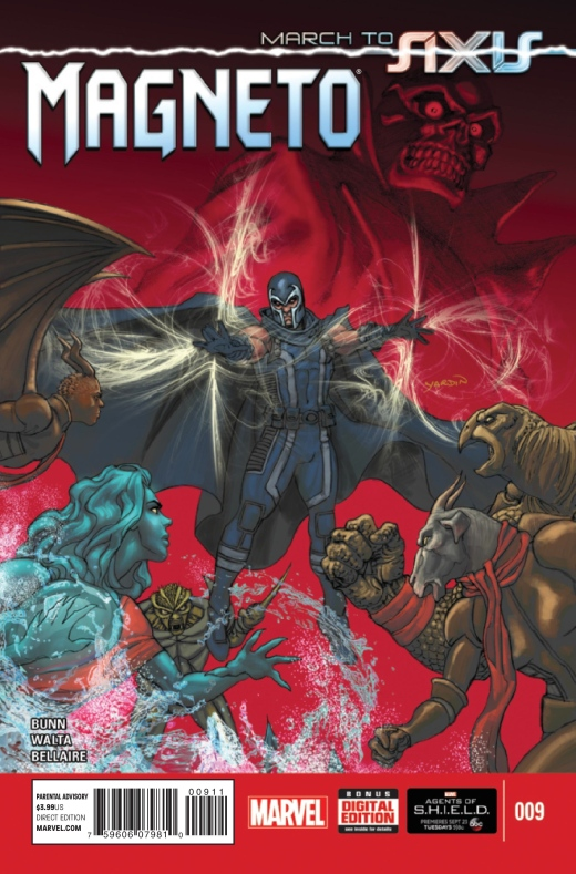 Magneto 9 - Cover