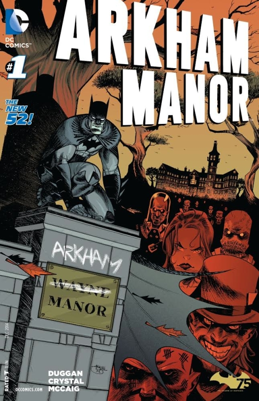 Arkham Manor 1 - Cover