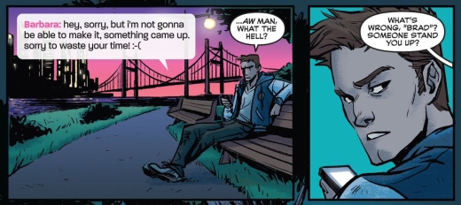 Batgirl 35 - Crazy Random Coincidence