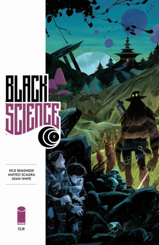 Black Science 9 - Cover