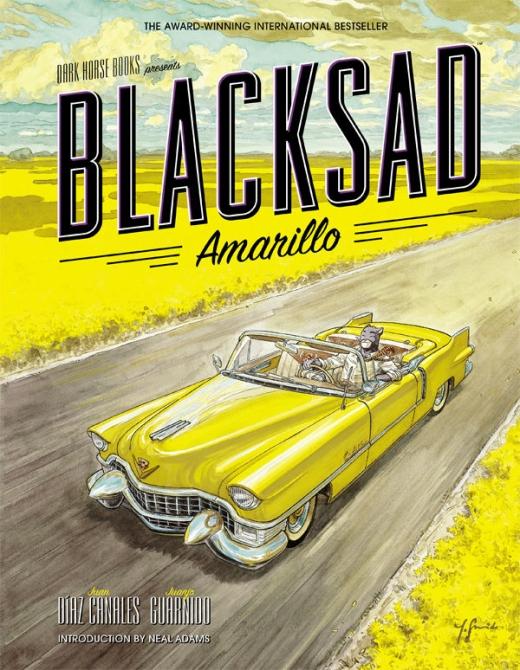 Blacksad Amarillo - Cover