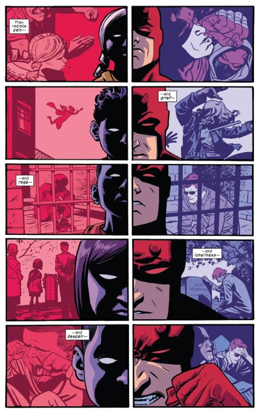 Daredevil 9 - Purple Kids