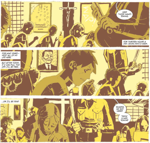 Deadly Class 8 - Yellow