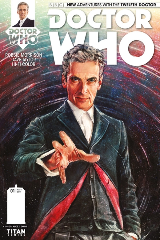 Doctor Who - Twelfth Doctor - Cover