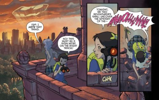 Gotham Academy 1 - Olive and Maps 3