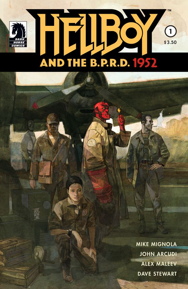 Hellboy and the BPRD Cover