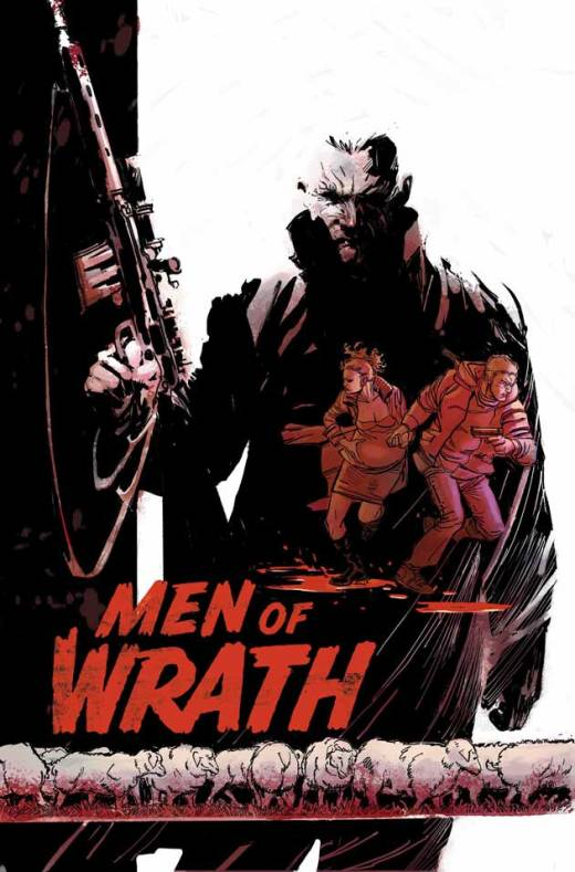 Men of Wrath 1 - Cover