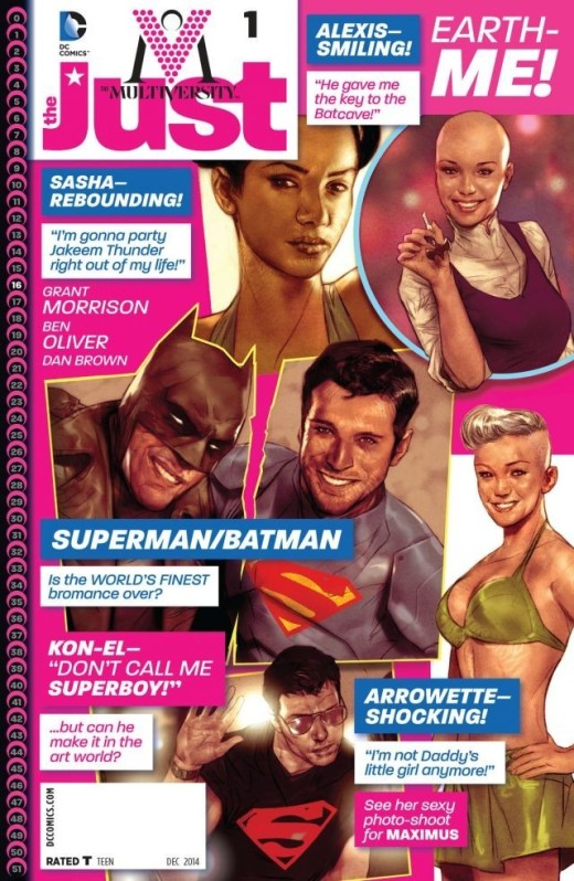 Multiversity - The Just - Cover