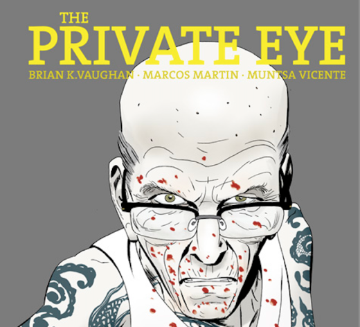 The Private Eye 8 - Cover