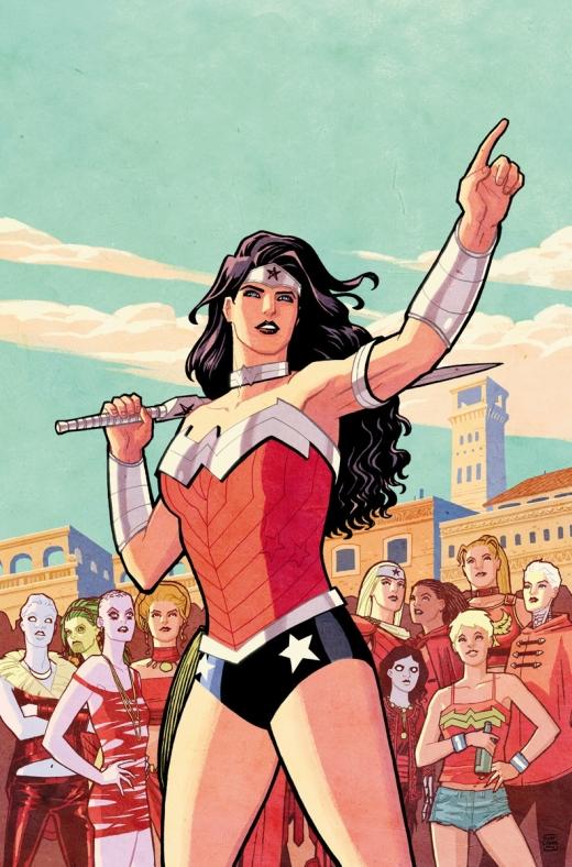 Wonder Woman 35 Cover