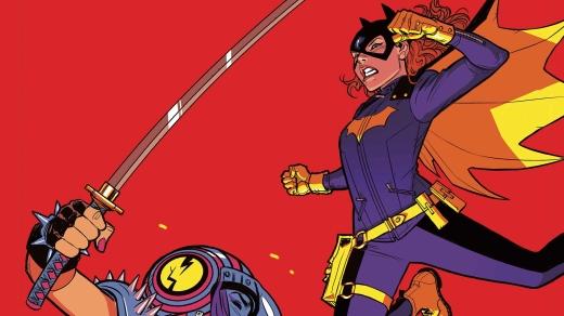 Batgirl 36 Cover