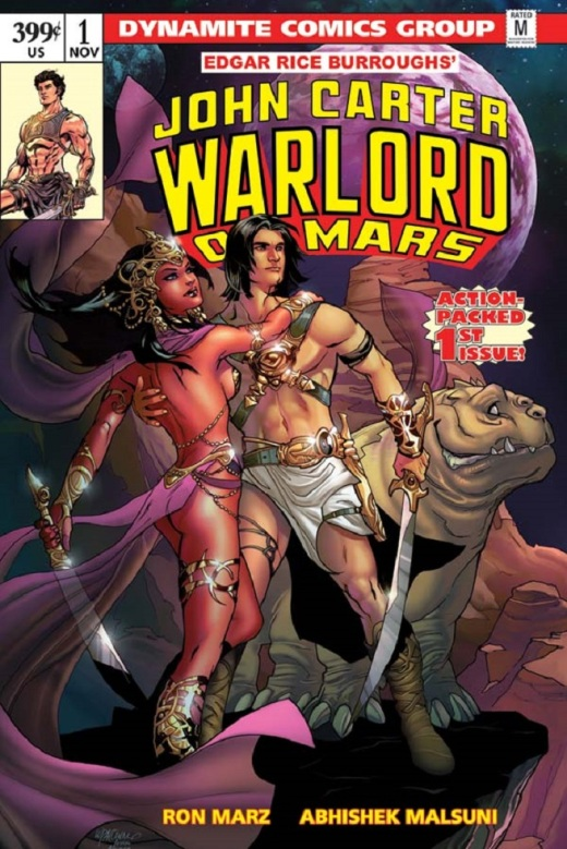 John Carter Warlord of Mars - Cover