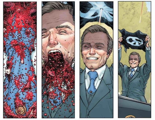 Multiversity - Pax Americana - Assassination
