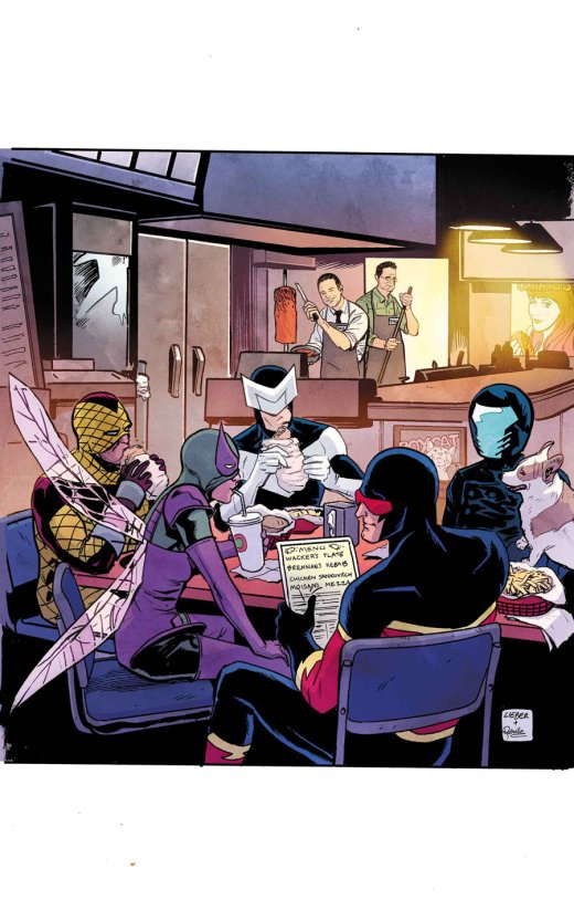 Superior Foes of Spider-Man 17 Cover