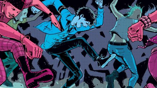 Best Comics of 2014 - Deadly Class