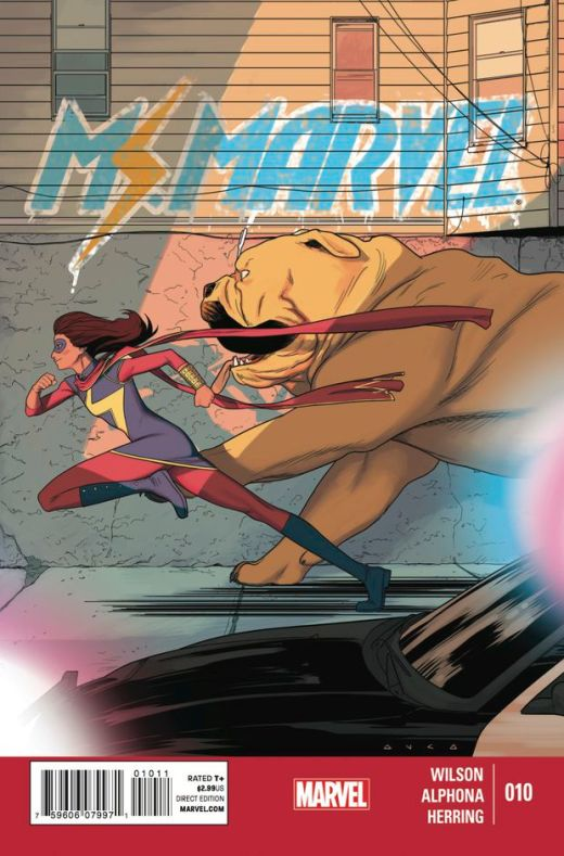 Ms Marvel 10 - Cover