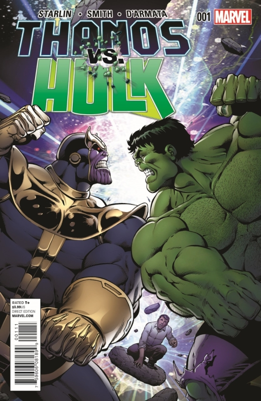 Thanos Vs Hulk Cover