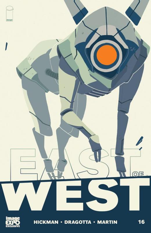 East of West 16 Cover