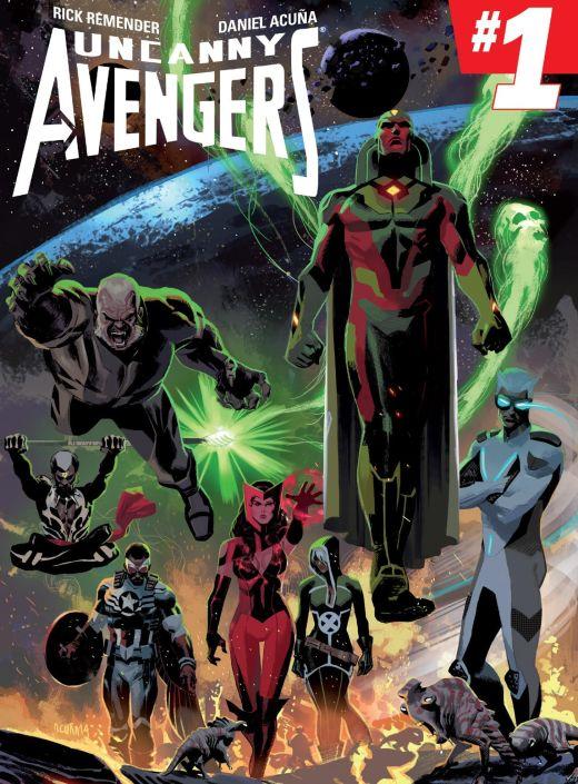 Uncanny Avengers 1 - Cover