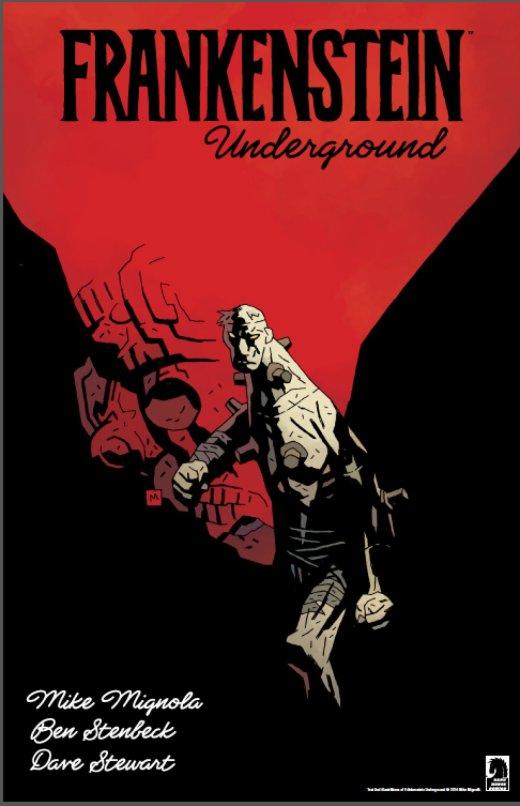 Frankenstein Underground - Mignola - Cover