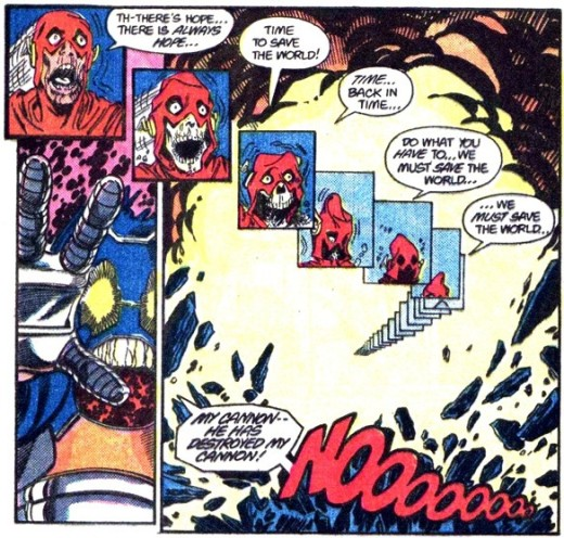 Emotional Stakes - Death of Barry Allen
