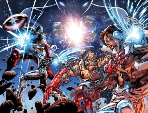 Avengers 44 New Avengers 33