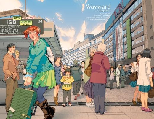 Cummings - Wayward - Ikebukura