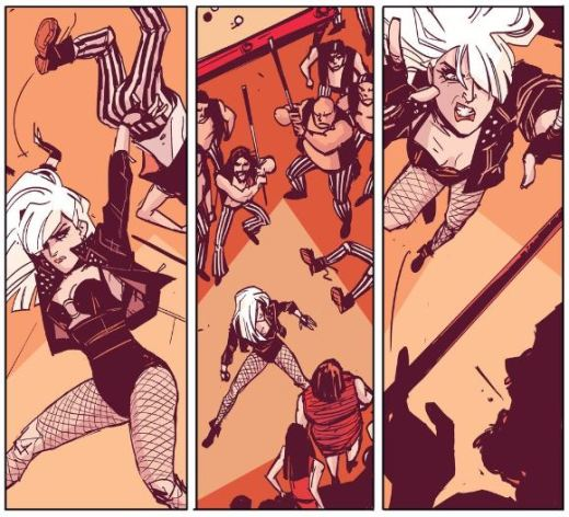 Black Canary 1 -Review - Action