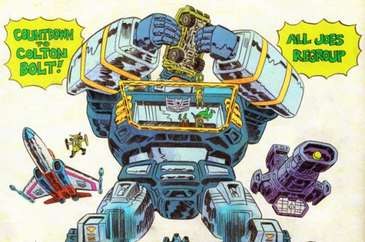 CC - 4 - Transformers Vs GI Joes