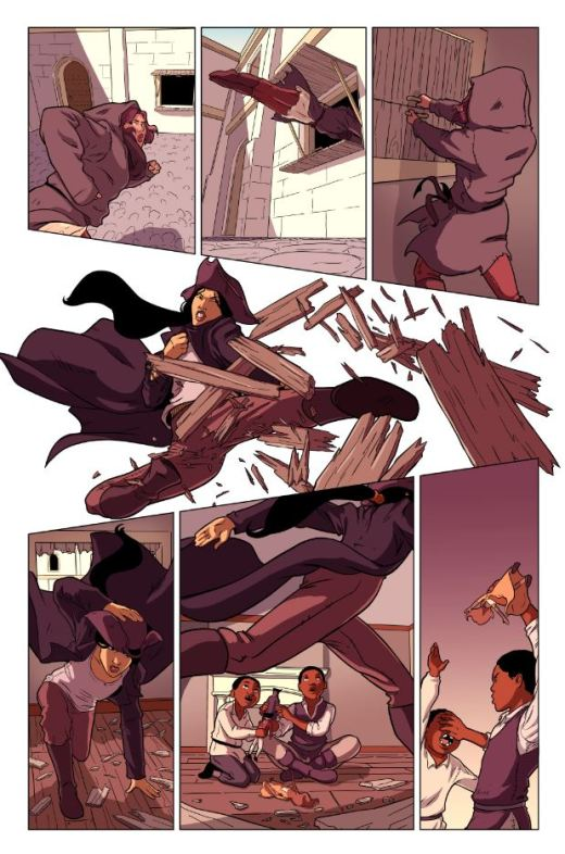 Raven The Pirate Princess - Colours