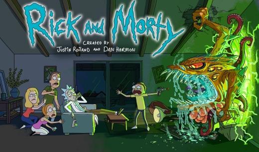 Rick and Morty - Header