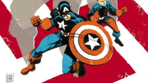 CC - 1 - Captain America White