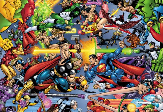 Justice League Vs Avengers