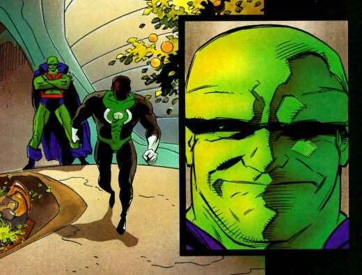 Martian Manhunter - Cosmic Odyssey