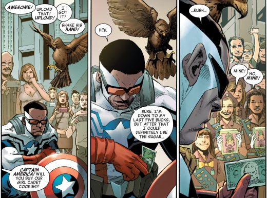 All-New All-Different Avengers #1 Girl Scouts