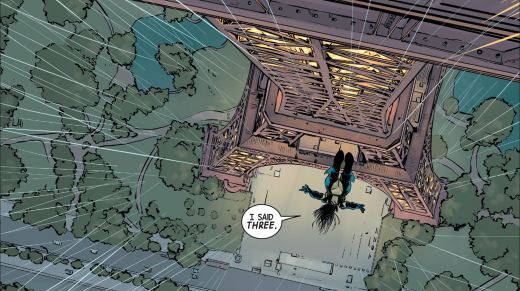 All-New Wolverine #1 - Falling
