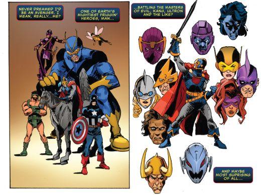 Black Knight #1 Avengers