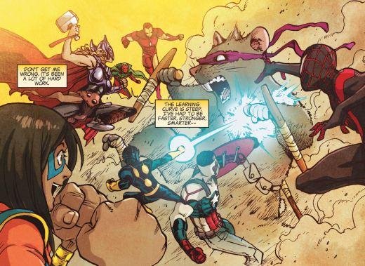 Ms Marvel #1 Avengers