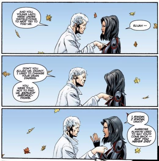 Planetary #12 Elijah and Jakita